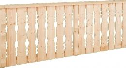 Balkonbretter Holz Fichte Laerche Balkongeländer Berchtesgaden01