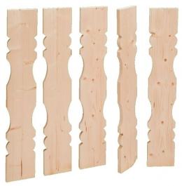Balkonbrett Holz Fichte Laerche Berchtesgaden Balkongeländer00