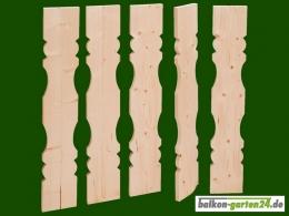 Balkonbretter Holz Fichte Laerche Berchtesgaden