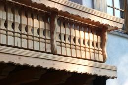 Balkon Laerche Douglasie Gelaender