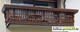 Holzbalkon Balkongeländer Kufstein D Kundenbild Douglasie Lärche