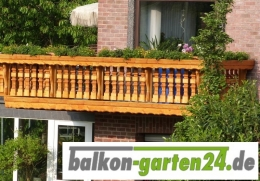 Balkongeländer Holz nord. Fichte Salzburg 1 Balkonbrett