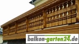 Balkongeländer Kufstein Detailansicht Balkonbrett