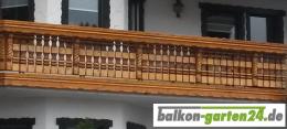 Balkongelaender Holz Fichte Laerche Kufstein Zopfkonsole00