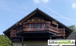 Holzbalkon Balkongeländer Balkonbrett Salzburg Fichte Lärche Kundenfoto0