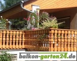 Balkongeländer Holz nord. Fichte Salzburg 1