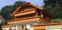 Holzbalkon Bausatz Douglasie Lärche Berchtesgaden D