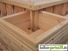 Balkongeländer Holz Douglasie Lärche Bausatz Lindau