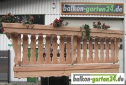 Balkongeländer Holz Lärche Douglasie Bausatz Lindau